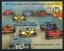 Mauritania 1982 Mi. Bl.34 Foglietto 100% ** Gran Premio Storico di Francia.