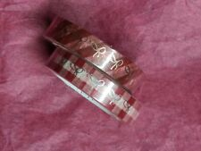 Simply Gilded 10mm Set Of Two Rolls of Red Plaid Washi Tape New