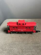 AMERICAN FLYER 630  S SCALE/GAUGE READING 630 RED PLASTIC CABOOSE Model Train RR