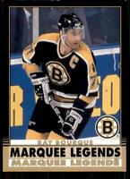 2020-21 UD O-Pee-Chee Retro Black Border Marquee Legends #537 Ray Bourque /100
