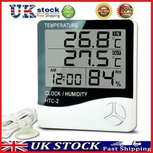 HTC-2 Digital Thermometer Hygrometer Electronic Temperature Humidity Meter  T#K