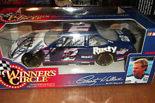 RUSTY WALLACE AUTOGRAPHED #2 RUSTY WALLACE WINNERS CIRCLE 1:24 SCALE (18