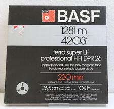"""Basf cinta 4203' - 1281m Ferro Super LH Professional 1/4"""" - aluspule NAB"""