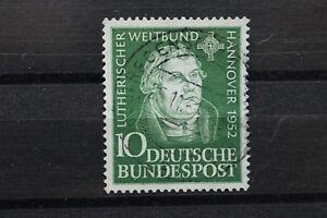 Briefmarke Tagung des Lutherischen Weltbundes Hannover 1952 Michl Nr. 149