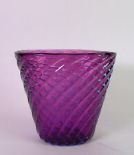 MURANO Vase Seguso - lila - 19,5cm
