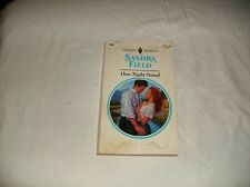 Harlequin Presents: One-Night Stand by Sandra Field (1993, Paperback)