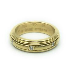 Piaget Possession Eternity Round Band 18K Yellow Gold Ring, Sz.6.75
