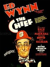 ADVERTISING MOVIE FILM CHIEF ED WYNN PERFECT FOOL COMEDY FARCE POSTER LV1009