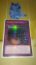 Imperial Iron Wall OP01 EN012 Super Rare  Yugioh