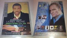Lionel Richie Sting 1996/4 PolyGram Music Express Taiwan Edition Magazine #20