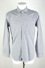 strellson Hemd Gr.42/16,5 ( Kragenweite 41 cm ) schwarz/weiß gestreift Anzughemd