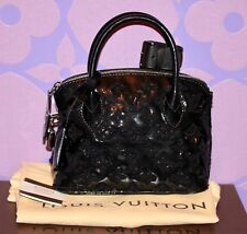 Louis Vuitton $3150+ FASCINATION Lockit BB Monogram Bouclette Noel Bag *LIMITED*