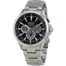 SEIKO MEN'S CONCEPTUAL 45MM STEEL BRACELET & CASE SOLAR ANALOG WATCH SSC493