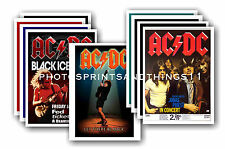 AC/DC  - 10 promotional posters - collectable postcard set # 1