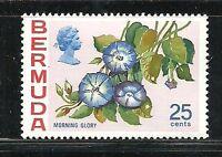 Album Treasures Bermuda Scott # 324  25c  Flower Morning Glory  Mint NH
