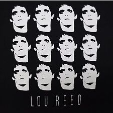 Lou Reed Collage ***LARGE*** screen printed t-shirt Black punk retro