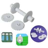 FondantStrip Ribbon Cutter Sugarcraft Tool Cake Rolling Pins Embosser Roller Set