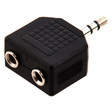 5X(Lovers Pals Friends 3.5mm Jack Splitter for PC stereo MP3 players Share G4O9