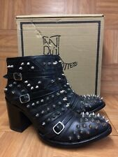 RARE🔥 Old Gringo Mexicana Collection Made in Mexico Mercedeh Studs Boots 8.5 39