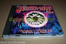 Summer Of Love Volume 1 & 2 CD Lot Rhino Sampler Woodstock Flower Power Hippy