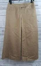 Worthington Capri Pants Size 4 Modern Fit Capris Cropped Wide Leg Excellent Used