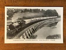 Railroad, Cornish Riviera Express Drawn By King William Iv Engine