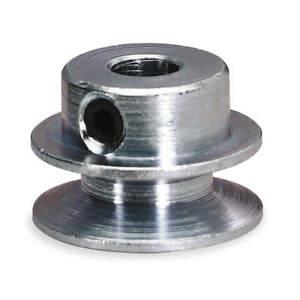 "DAYTON 1X459 O-Ring Pulley,1/4"" Fixed,Iron"