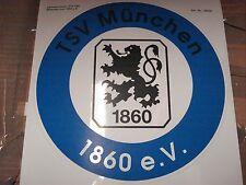 RARITÄT !Grosser Auto -  Aufkleber TSV 1860 München ca.22 cm Fussball Fanartikel