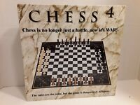 Wow Toys Chess 4, Four Player Chess Game, Complete Set, Board, 64pc, Complete