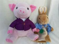 Frederick Warne Peter Rabbit Puppet & Piggling Bland Soft Toy g1