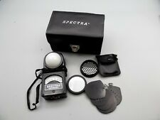 Spectra Professional Exposure Meter Model P- 251 W/ Case & Attachments