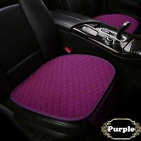 Universal Car Chair Cushions Pad Mat Auto Suv Seat Cover Linen  With Storage Bag