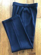 Womens ST. JOHN COLLECTION  Knit Navy Pants Size 2