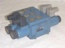 Mannesmann Rexroth Hydraulik Steuerblock SP-2339-12 Q25 Magnetspule GZ 45-4-A