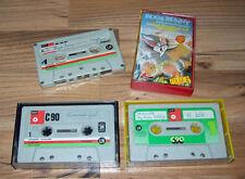 3 BASF LH 90 VINTAGE AUDIOKASSETTEN grau/grün>1970er Eisenoxid-Cassetten>Tonband