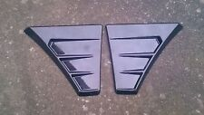 FOCUS RS MK2 STYLE GLOSS BLACK WING VENTS *UNIVERSAL* MONDEO MK3 ST220/ST TDCI