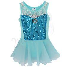 Girls Lace Ballet Dress/Tutu Leotard Skirt Dance Gymnastics Fancy Fairy Costume