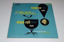 Surprise: Haydn~Sir Thomas Beecham~Drum Roll: Haydn~Columbia ML 4453~FAST SHIP