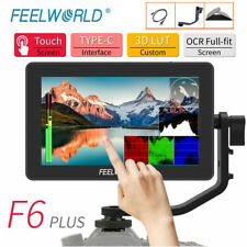"Feelworld F6 Plus 4K HDMI Monitor 5.5"" IPS Touch Screen 3D Video Camera DSLR UK"