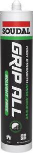 Soudal Grip All Solvent Free High Strength Grab Filling Adhesive Bonding 290ml