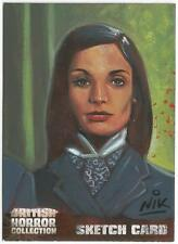 British Horror Collection Sketch Card created by Nick Neocleous - Nik [ A ]