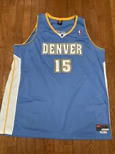 Nike Denver Nuggets CARMELO ANTHONY Jersey Mens Size 3XL Team Swingman Sewn
