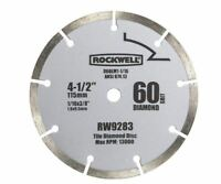 "Rockwell RW9283 Segmented Diamond Blade, 4-1/2"""