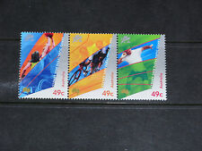 AUST 2000 PARAOLYMPIC GAMES 49c ISSUE SE-TENANT  STRIP OF 3  VERY FINE M/N/H