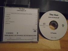 RARE ADV PROMO The Sun ACETATE CD Love & Death EP New Bomb Turks GAUNT V-3 wilco