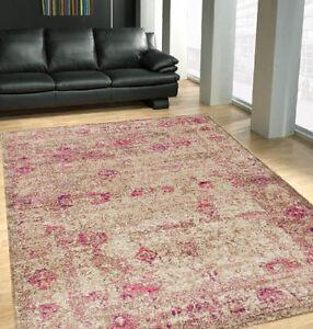 Harmony Carved French Rugs High Density Designer Carpet Floor Rug 3 Sizes
