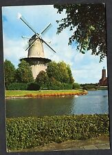 Posted 1983 View of a Windmill at Middelburg, Holland