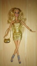 Barbie fashionista 2009 Puppe fashion fever Glam deluxe Style Kleidung P180 Doll