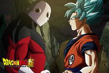 Dragon Ball Super Poster Goku Blue Vs Jiren 12inx18in Free Shipping