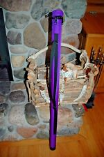 NEW WHIP CASE IN PURPLE FOR SADDLE SEAT DRESSAGE SADDLEBRED ARAB FRIESIANS